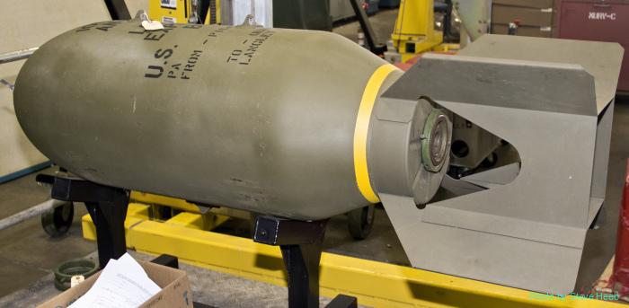 1000-pound GP bomb