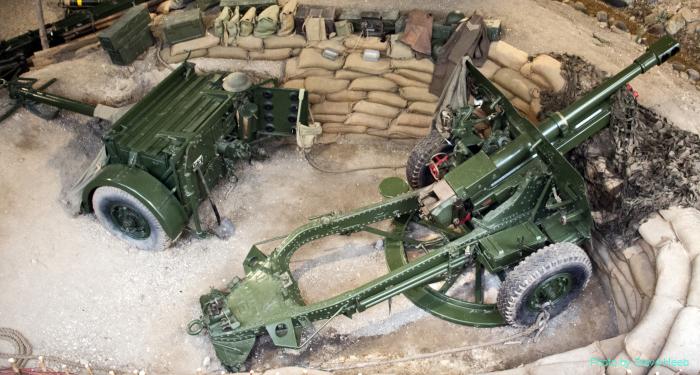 25-pound Field Gun (multiple)