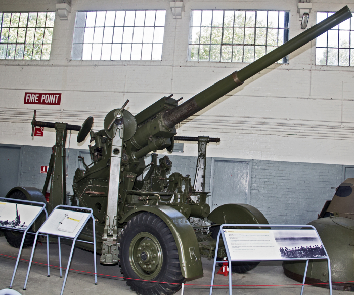 3.7-inch Anti-aircraft Gun