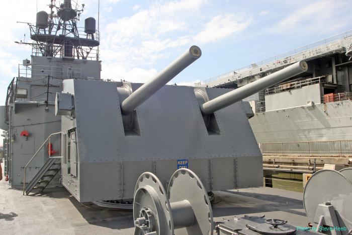 5-inch/38 caliber guns