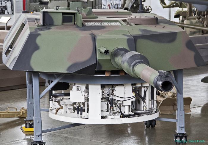 M1A1 Abrams turret trainer