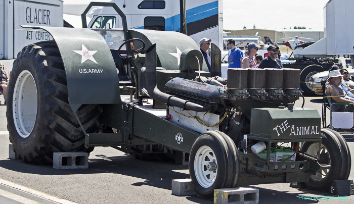 Allison-powered Drag Tractor