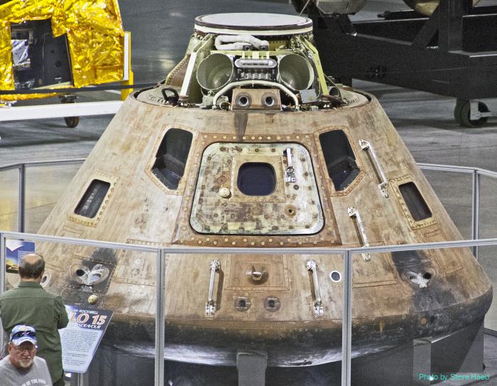 Apollo 15 capsule
