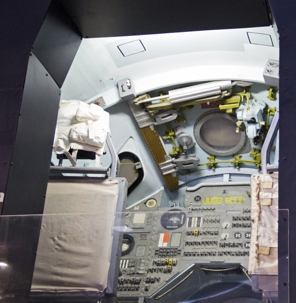 Apollo command module mockup