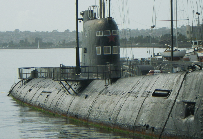 B-39 Soviet Sub
