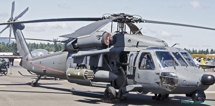 UH-60 Blackhawk helicopter (multiple)
