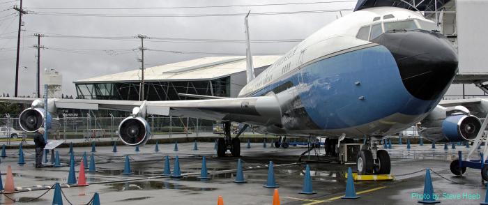 """VC-137B: Boeing 707-120 """"SAM 970"""""""