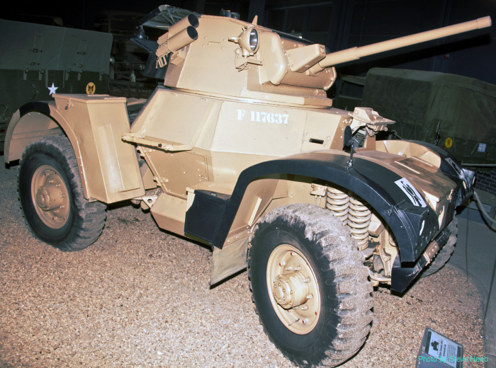 Daimler Mk 1 armored car