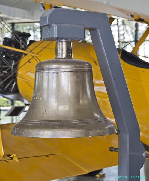 USS Bunker Hill Bell