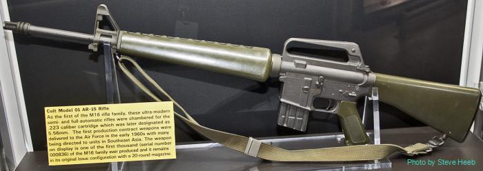 M16 Rifle (Colt AR-15)