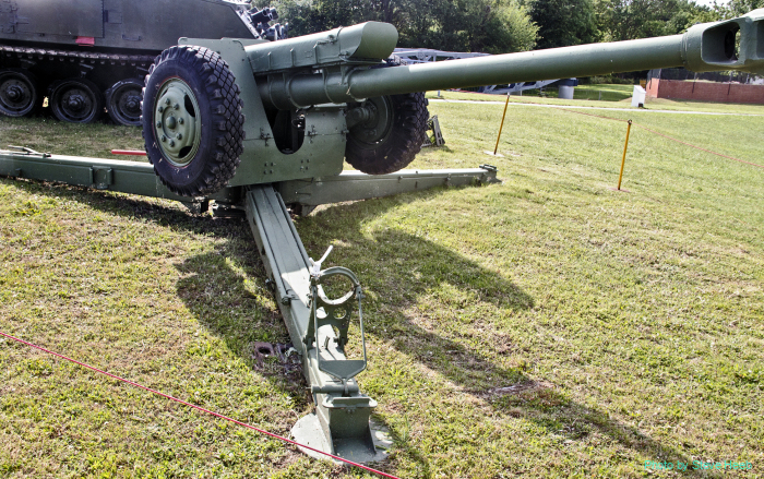 D-30 122mm towed howitzer