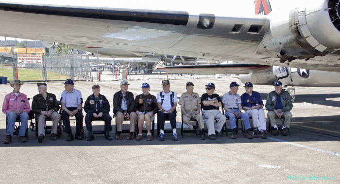2016: D-Day Remembrance with B-17 vets