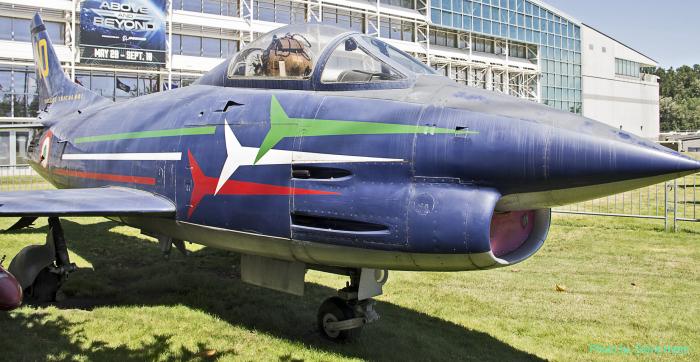 """Fiat G.91 """"Frecce Tricolori"""""""