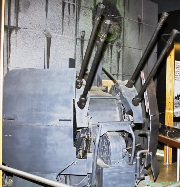 Flak 38 (20mm) Flakvierling Quad gun