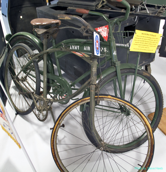 Folding Bicycles WWII