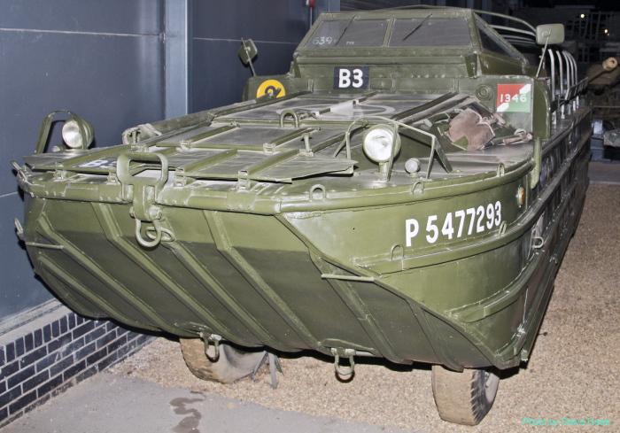DUKW 353 amphibian truck (multiple)