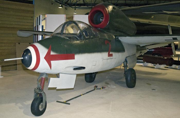 Heinkel He 162 Salamander (multiple)