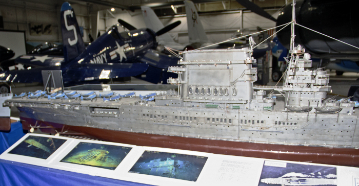 USS Lexington Model