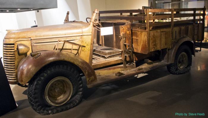 Long Range Desert Group (LRDG) truck