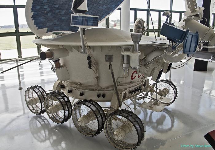 Lunokhod 2 Soviet Rover
