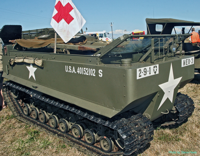 M29 Weasel tracked carrier vehicle (multiple)