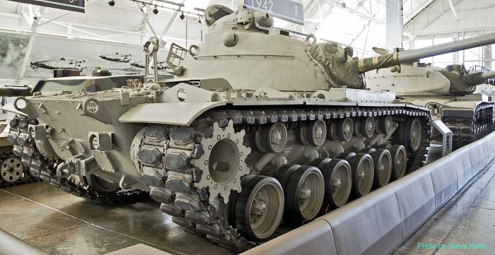 M48A1 Patton Tank