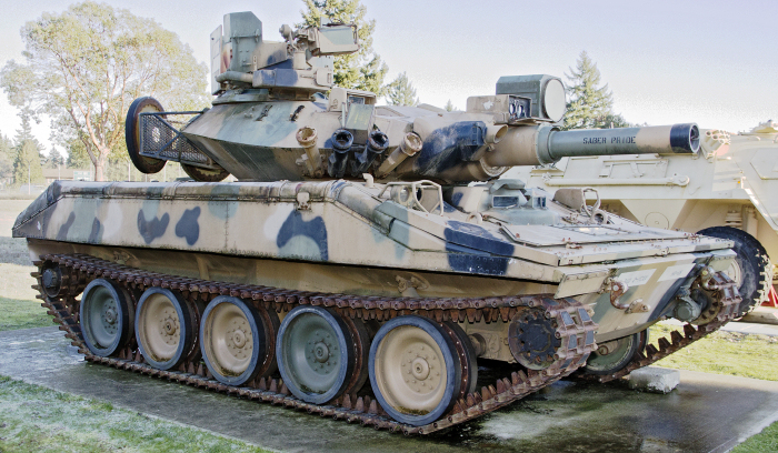M551 Sheridan light tank