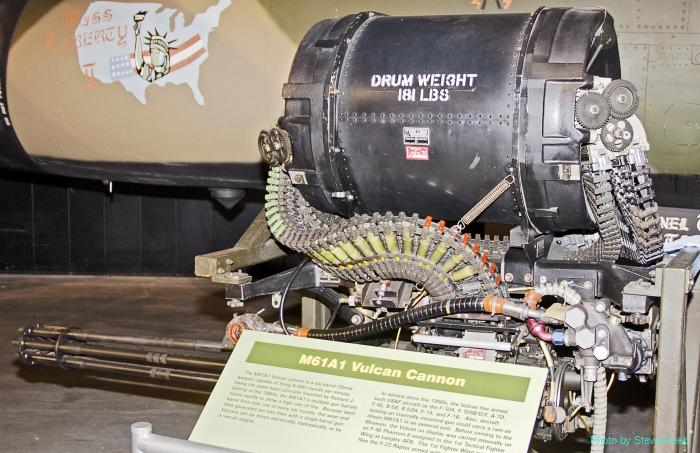 M6A1 Vulcan Gun