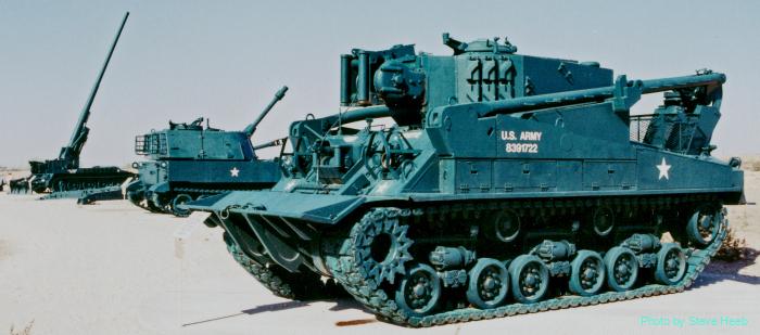 M74 Heavy Tank Recovery Vehicle