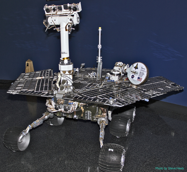 Mars Rover Spirit (multiple)
