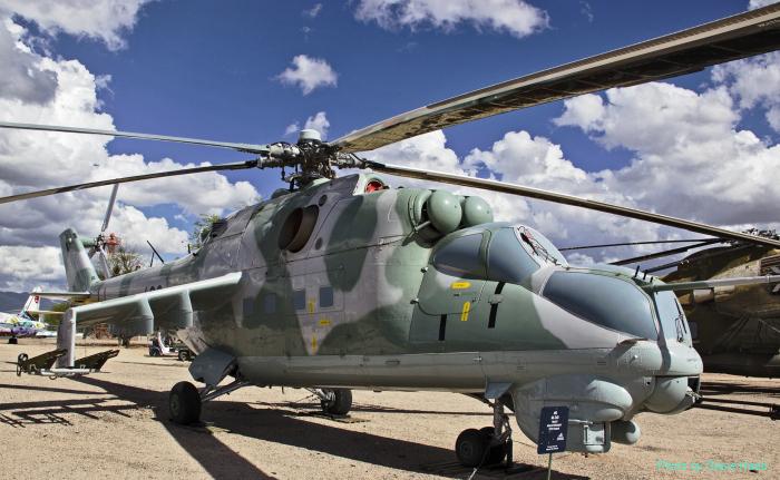 Mi-24 Hind (multiple)