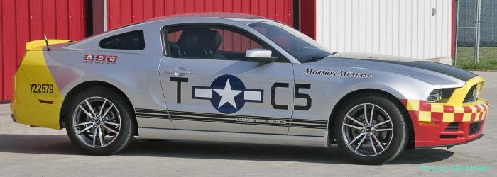 Mustang tribute to Mormon Mustang