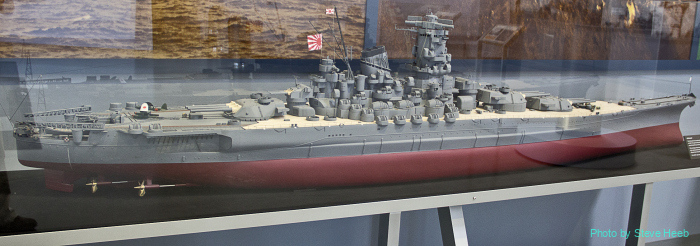 IJN Musashi Model