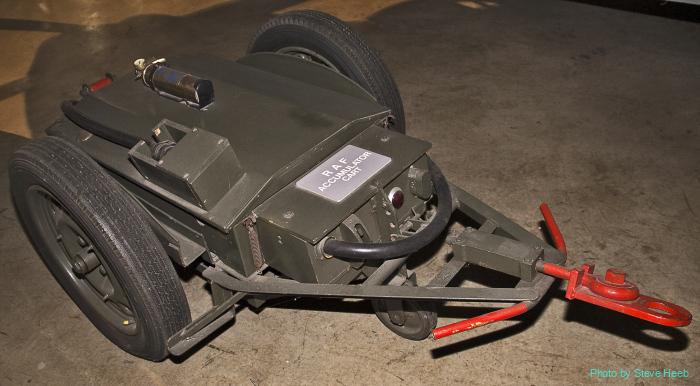 RAF Accumulator Cart