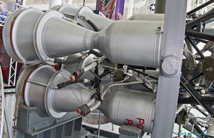 RD-107 Vostok Rocket Engine