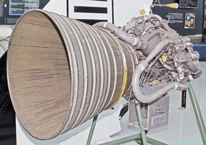 Rocketdyne RL-10 rocket engine