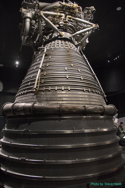 Rocketdyne F-1 and Apollo Injector Bell