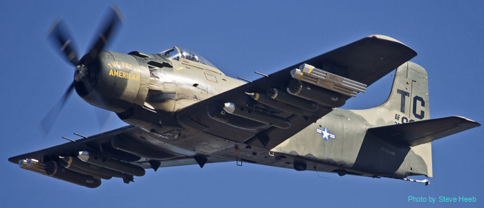 A-1 Skyraider (multiple)