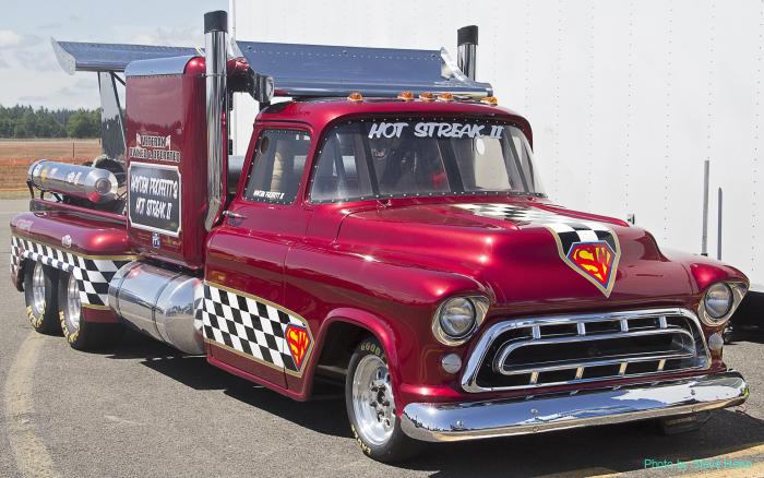 1957 Chevy Pickup: Smoke and Thunder