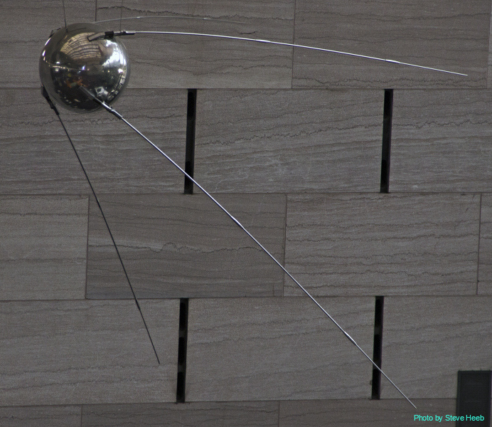 Sputnik 1 Russian satellite (multiple)