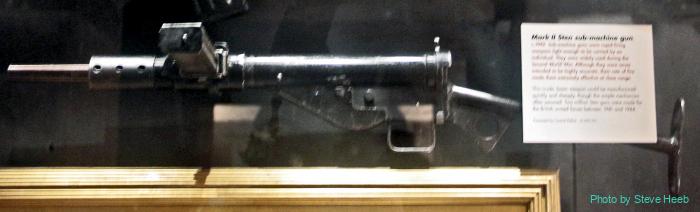 Sten Mk II Submachine Gun