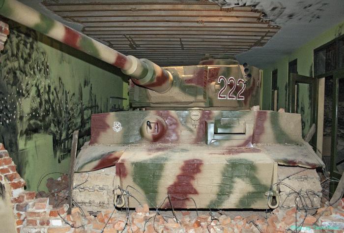 Tiger 1 German heavy tank