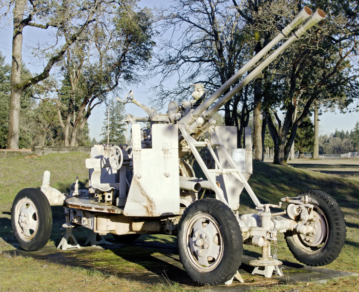 Type 65 Twin 37mm AA gun