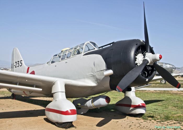 Val replica (from Vultee BT-13)