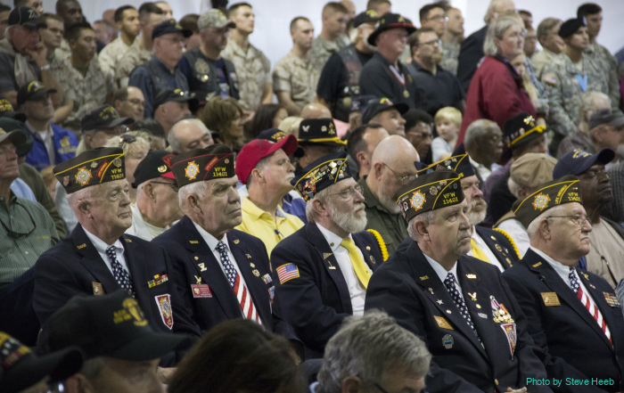 2014: Vietnam Veterans Honor Ceremony at Ft Lewis