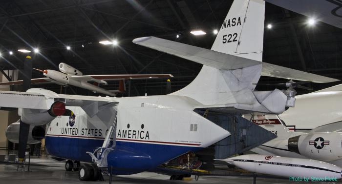 XC-142 tilt-wing