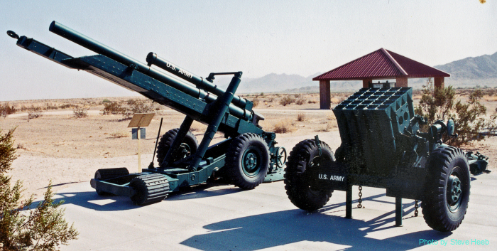 XM204 towed light Howitzer