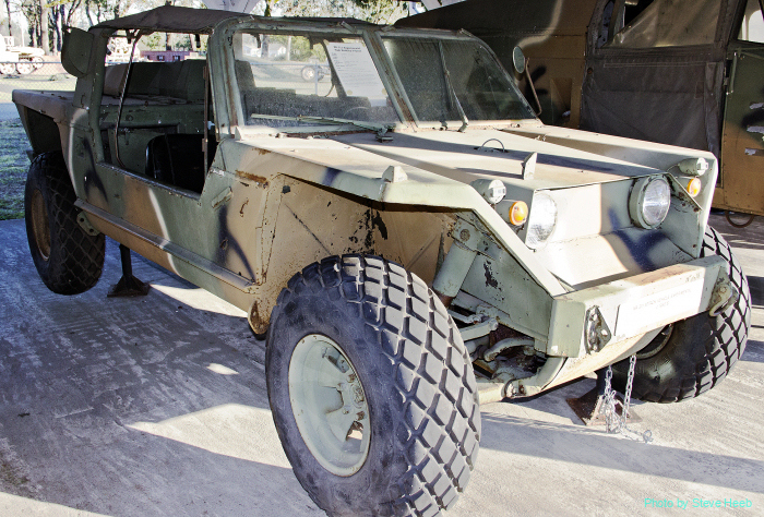 XR-311 experimental high mobility vehicle